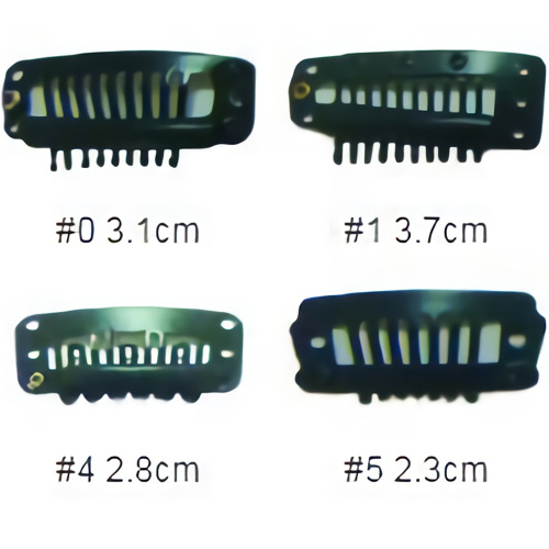 6-tooth carbon steel clips