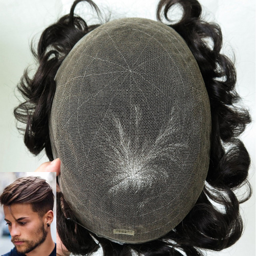 Hot Sale All Swiss Lace Toupees For Men