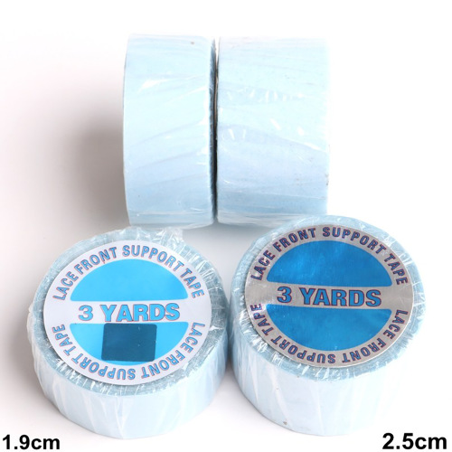 "Lace Front Support Tapes (Blue Liner)3/4""x3yards"