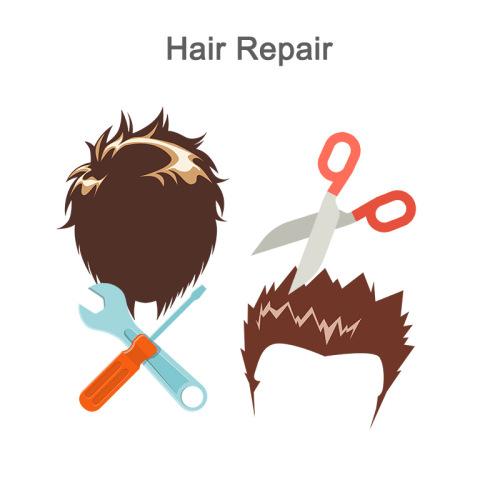 Repair a hair system